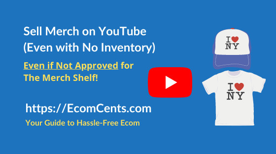 How to Sell Merchandise on YouTube