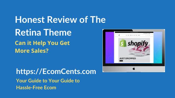 Shopify Retina Theme Review