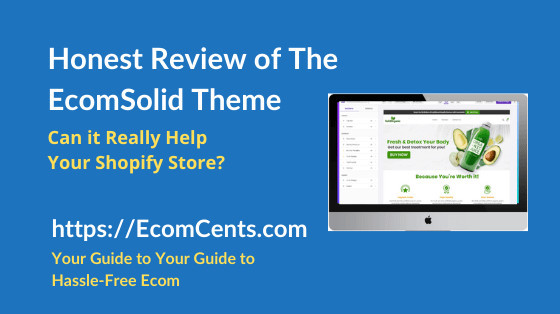 EcomSolid Theme Review