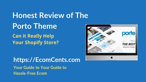 Shopify Porto Theme Review