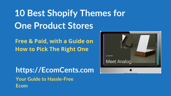 Best One Product Shopify Themes