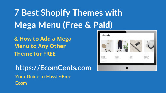 Best Shopify Themes with Mega Menu