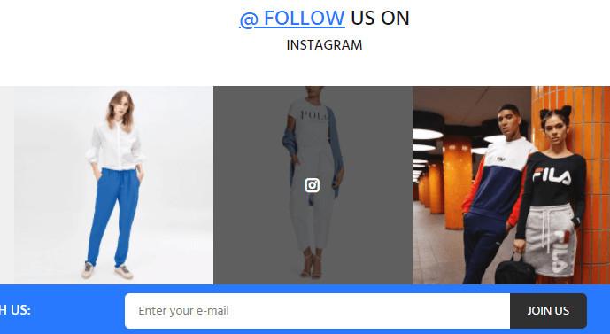 Shopify Wokiee Theme Instagram Feed