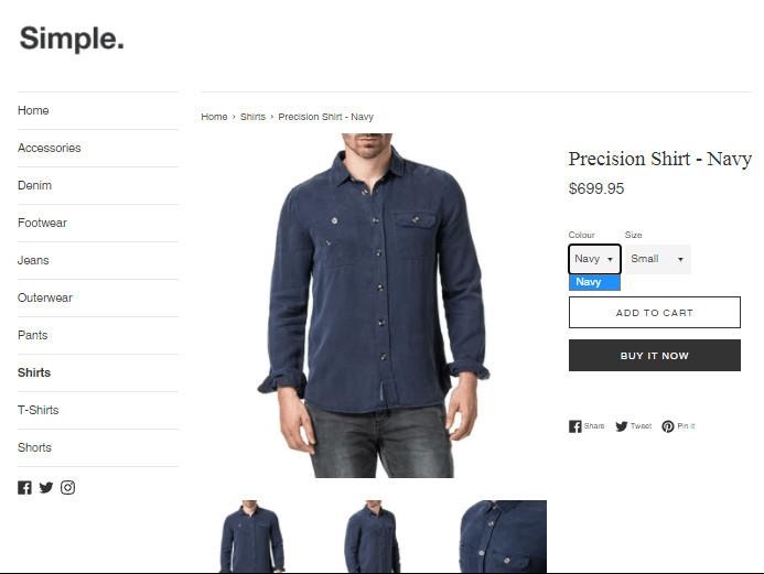 Simple Shopify POD Free Theme